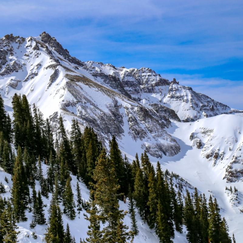 Downhill Skiing Telluride